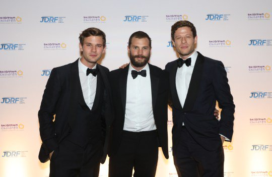 A perfect end to a superb #WorldDiabetesDay. A host of celebrities joined forces at #Sugarplum2017 to support JDRF&#39;s mission to find the cure for type 1 #diabetes. It was an amazing night!  https:// jdrf.org.uk/news/sugarplum -dinner-james-norton-jeremy-irvine-and-jamie-dornan-support-jdrf/ &nbsp; … <br>http://pic.twitter.com/pvPyMndJPe
