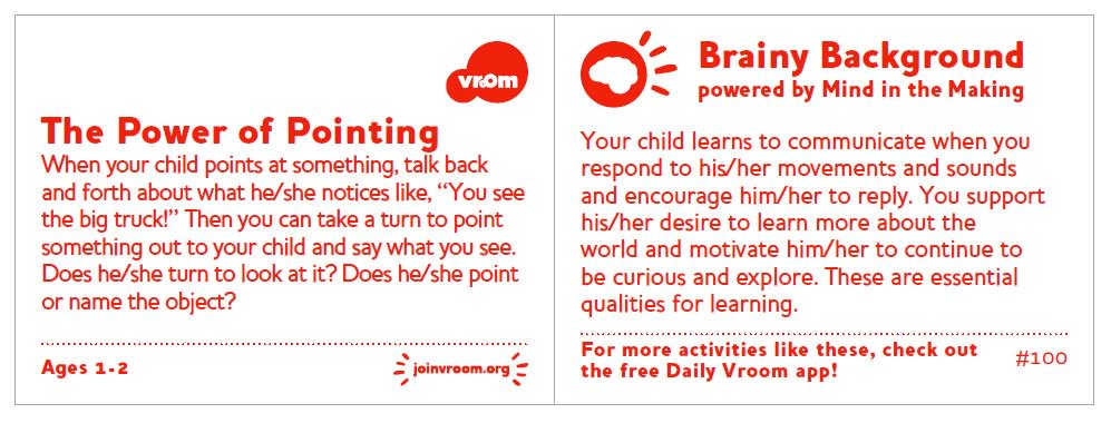 Use this #VroomTip to see what your child is interested in. As you talk you&#39;re encouraging them to explore and keep learning! <br>http://pic.twitter.com/5apJLEa4np