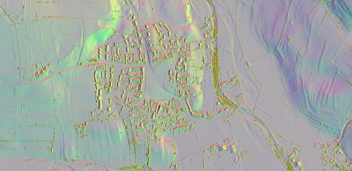 16 RVT LIDAR views of Reeth and Grinton in Swaledale. This is the link to the zip file  http:// bit.ly/2yI4AZT  &nbsp;   extract the images out of the zip file and open in your photo editor. Zoom in and pan around. #Swaledale #LIDAR #archaeology  ( https://www. eastmead.com/QGIS-LIDAR.htm  &nbsp;  )<br>http://pic.twitter.com/x3NOJNutMg