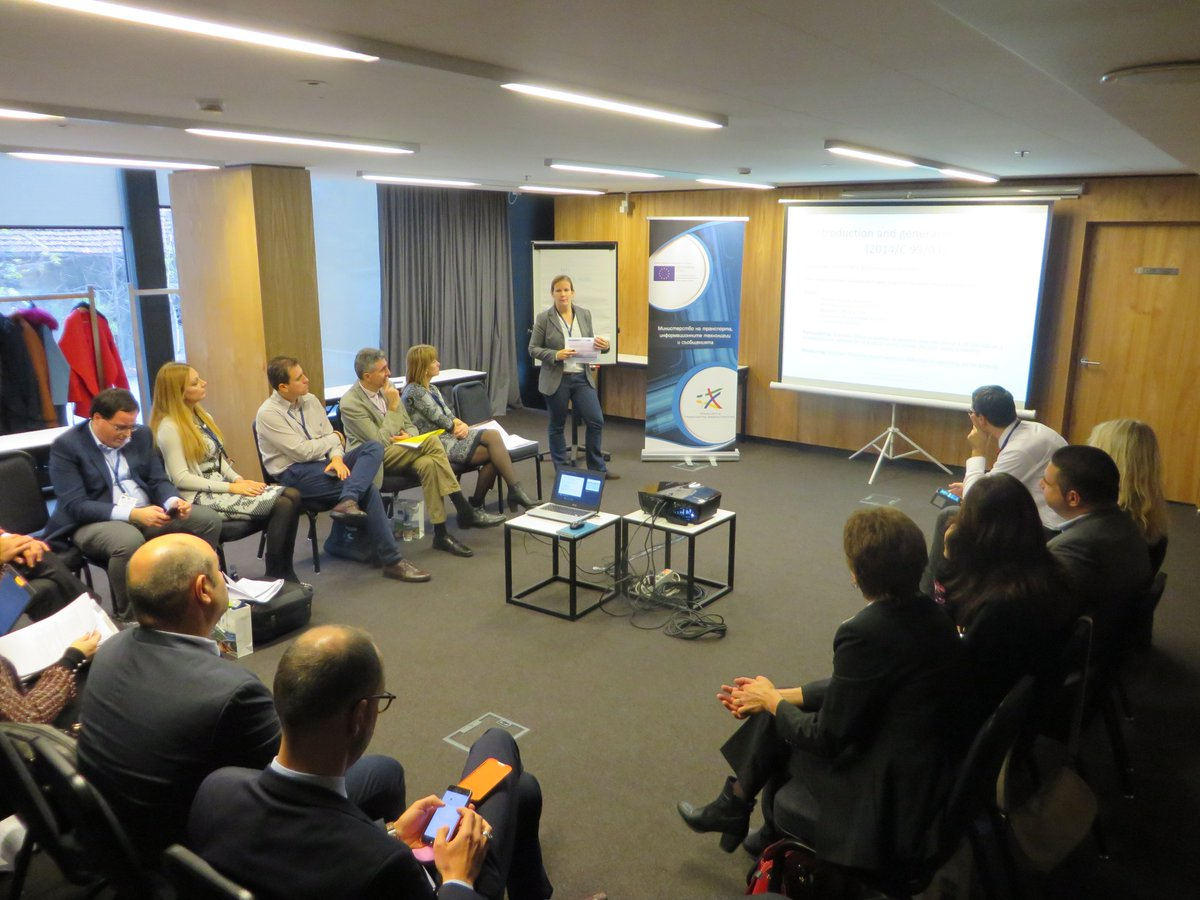 Exchanging on experiences and practices on State Aid in the transport sector in Sofia #EUTaiex @RegioAdmCap<br>http://pic.twitter.com/qD00oQY6mW