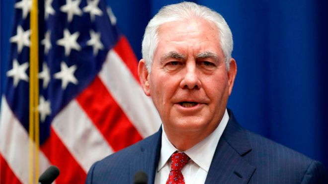 &quot;Wolves who ate the chickens?  Investigate!&quot;, roars the billionaire US Secretary of State #Tillerson to #Myanmar leaders.  A poor taste joke, &amp; insult to #Rohingya victims &amp; survivors.   http://www. bbc.co.uk/news/world-asi a-41993072 &nbsp; …  @nslwin @tunkhin80 @the_erc @CoconutsYangon @ASEANMP @YangheeLeeSKKU<br>http://pic.twitter.com/BeCXrwSOqj