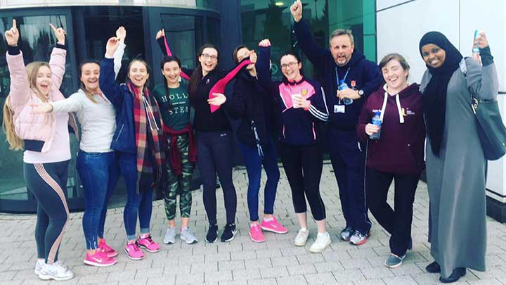Optometry students at @UlsterUniEPC support World Sight Day  http:// ow.ly/dLhE30gAR1W  &nbsp;   @WorldSightDay #WorldSightDay #optometry #optics<br>http://pic.twitter.com/lS0XW848W8