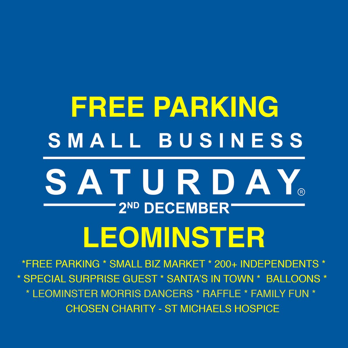 #marcheshour we are looking forward to #smallbusinesssaturday 2nd Dec. #Freeparking #livemusic @VocalsbyKeri. Lot of #promotions and #offers, #Leominhster is the place to be!!!<br>http://pic.twitter.com/qkIdzysR2U