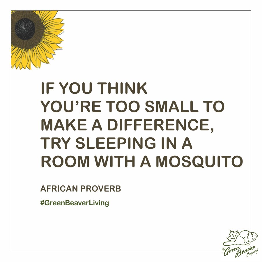 Times have changed, especially with the advent of social media which can unite our voices to make big enough noise to force the big companies to stop intoxicating our lives. Think about this next time you are being bugged by a mosquito. Take action!
