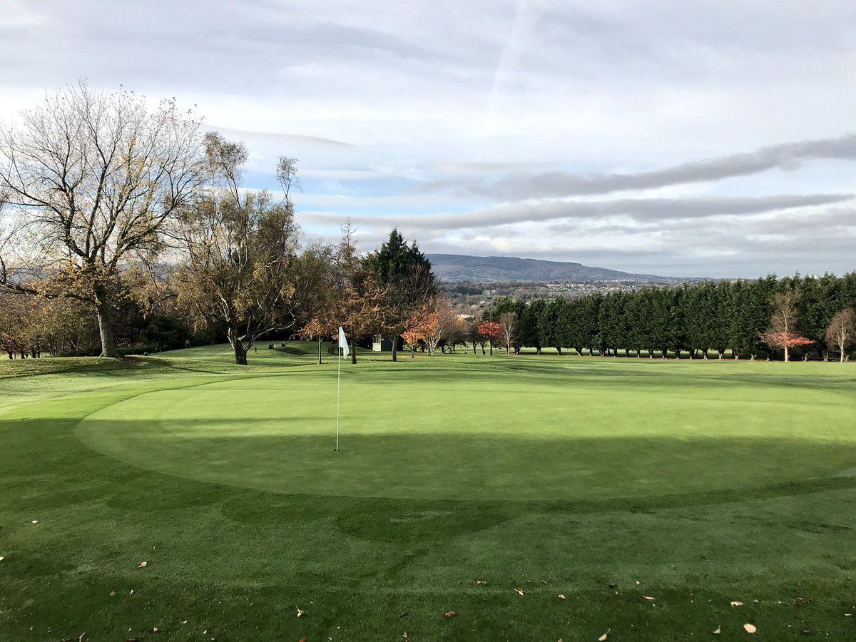 Putting surfaces at #KillineyGolfClub in excellent condition &amp; benefiting from the merits of the once annual triple aeration. Kudos to Superintendent, Michael Brown &amp; team #Agronomy #ThatchManagement #IPM <br>http://pic.twitter.com/bLjnicQkjV