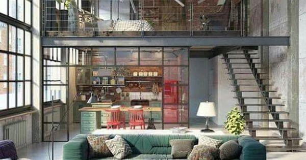 Just Pinned to Living Room: Vintage loft living room! #livingroom #setdec #pinterest #atlfilm #gafilm  http:// ift.tt/2hBqzP6  &nbsp;  <br>http://pic.twitter.com/gQgzfXt5cE