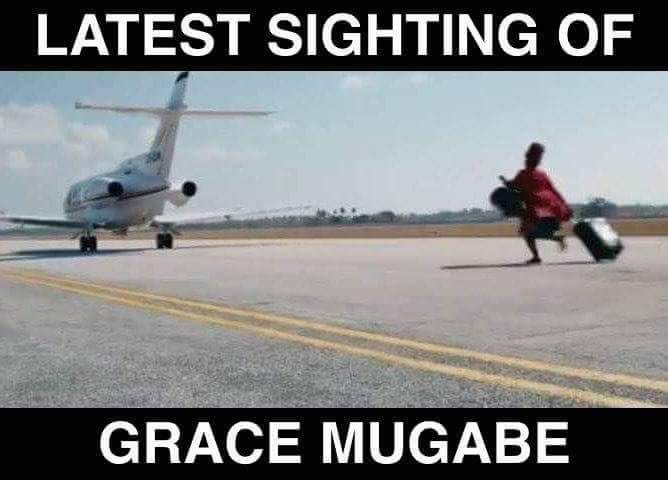 #BreakingNews : Grace Mugabe spotted at...