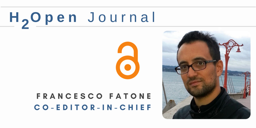 Our new H2Open Journal &quot;follows an interdisciplinary, integrated, and holistic approach to water innovation.&quot; says Co-Editor-in-Chief, Francesco Fatone (@FFatone)  Learn more:  http:// iwaponline.com/content/h2open  &nbsp;   #water #OpenAccess #OA #H2OpenJournal #impact<br>http://pic.twitter.com/ueldS8wczz