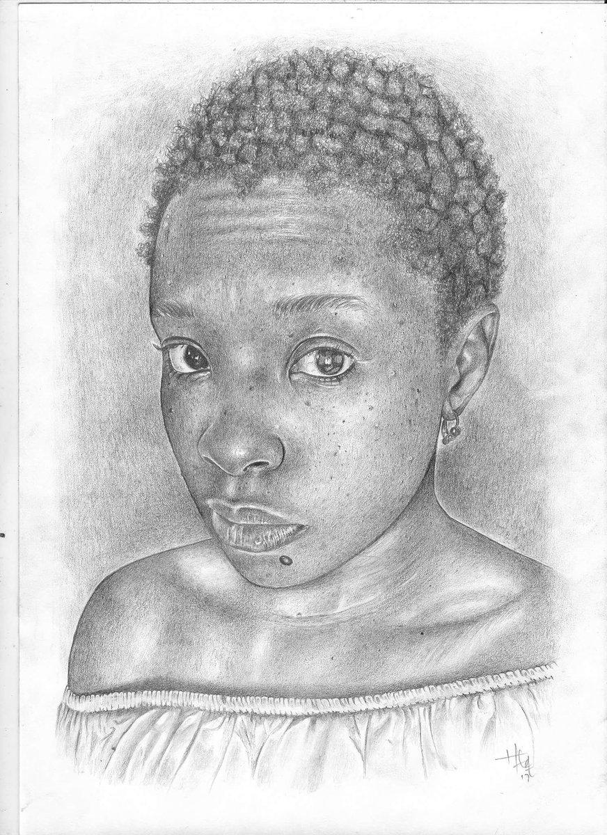 Pencil sketch I did  R600 for A4 sketch...