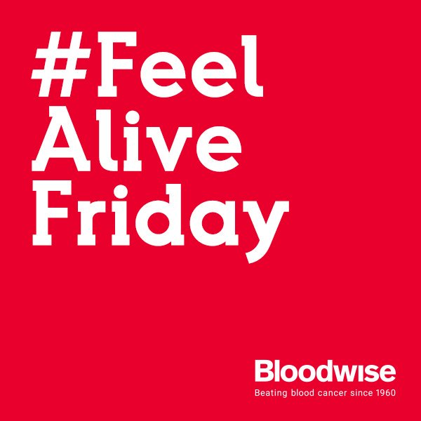 Help us spread the message that life is for living to the full by sharing something that makes you #FeelAlive #Bloodwise #Friday <br>http://pic.twitter.com/iRP2W9gqrw