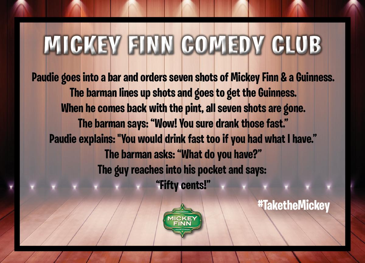 #TaketheMickey @UNILAD @ComedyCentralUK...