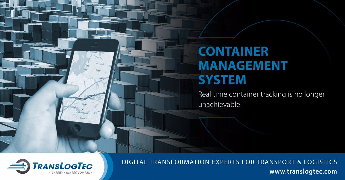Implement best practices in improving #containermanagement with @TransLogTec - Maximize container and cargo throughput and space utilization. sales@translogtec.com #supplychainmanagement #SupplyChain #Transport #Logistics #RealTime #visibility <br>http://pic.twitter.com/ZAO40PitDa