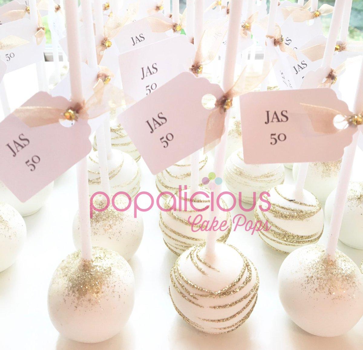 Superb Popalicious Cake Pop On Twitter Gorgeous Gold Swirl And Glitter Funny Birthday Cards Online Inifodamsfinfo