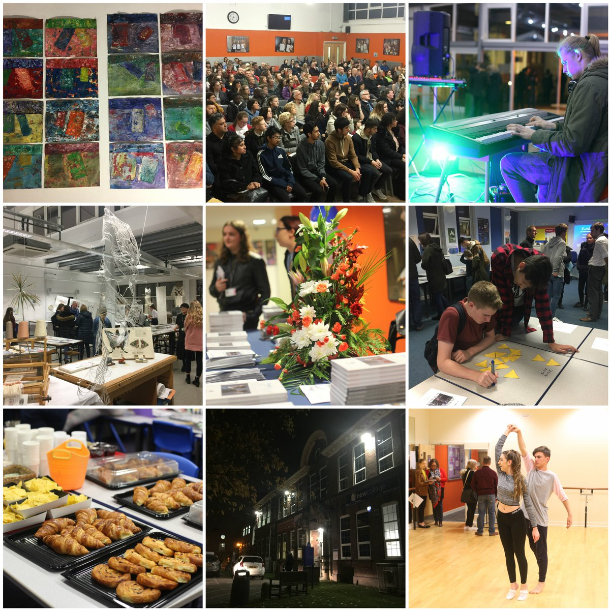 Thanks to everyone who attended our open evening, what a phenomenal turnout! We hope you all enjoyed meeting our students and staff and exploring your potential subject choices for post-16. #yourfuture #yourchoice #newcollege