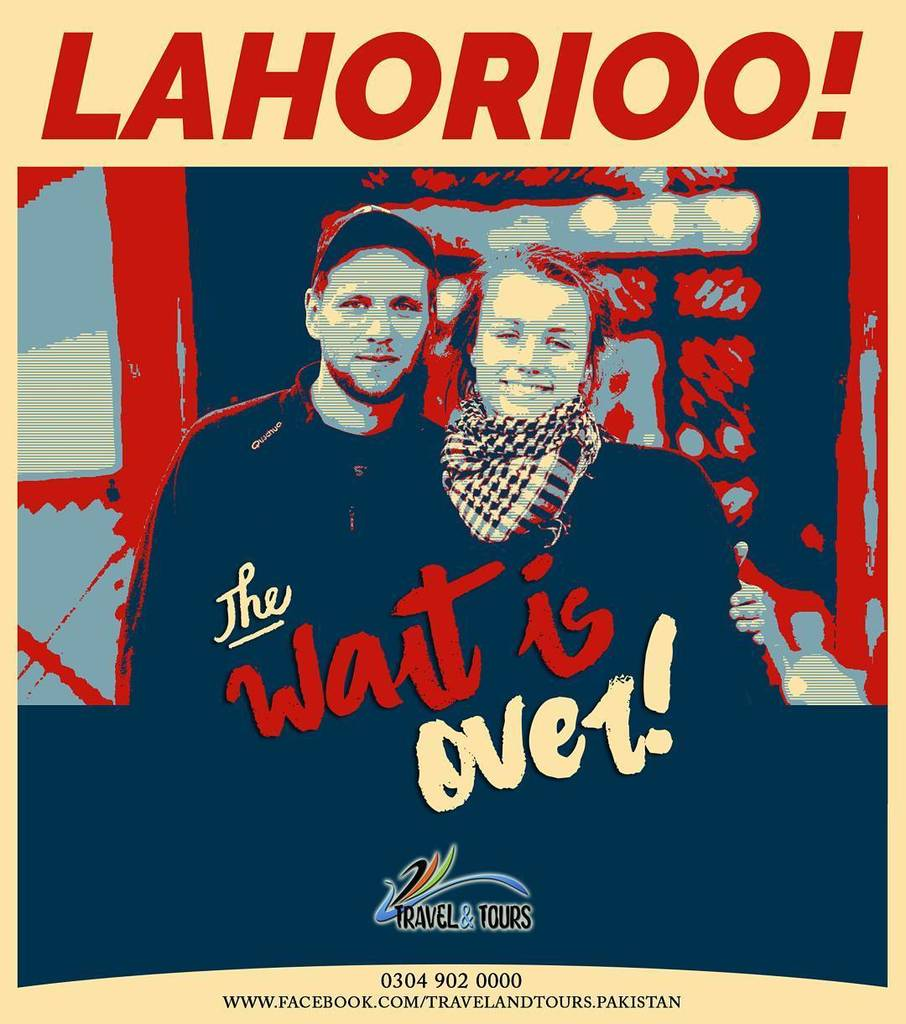 Hello LAHORIOO!  Finally The wait is over!  #KateLukasz and #Lukasz are coming to #Lahore  #KateLukasz #ByTheWay #BackpackingPakistan #Jour… <br>http://pic.twitter.com/5JCliro76t