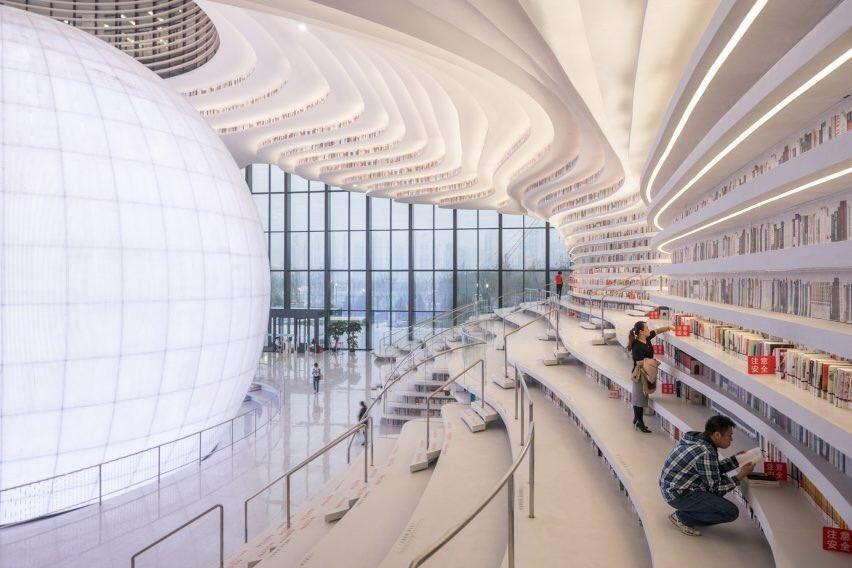 RT @angeljimenez: Enamorado de la nueva biblioteca pública de Tianjin Binhai en China. Qué preciosidad. https://t.co/hmgtCjyZU2