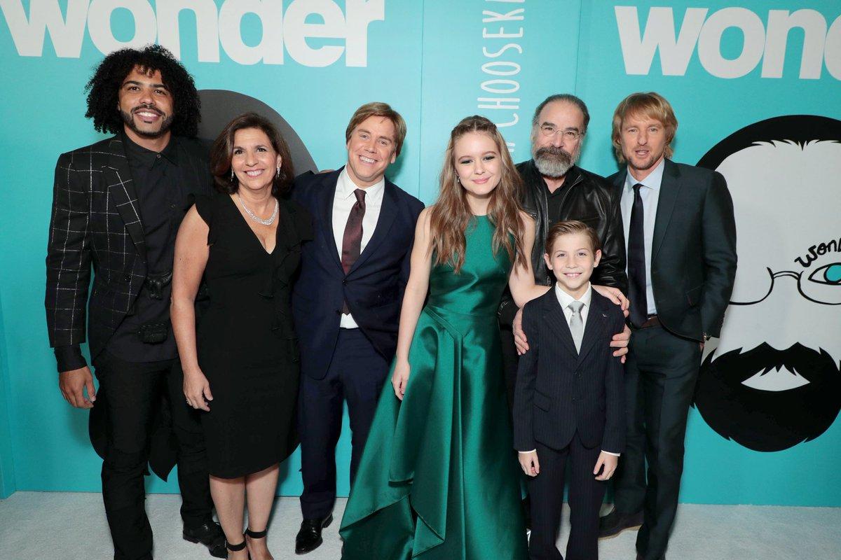 Wonder Rj Palacio Movie Cast