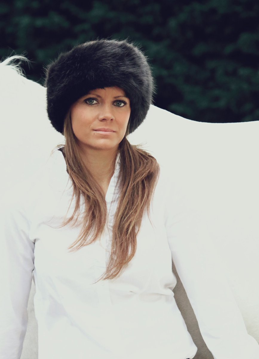 dc0467ee647df How stunning does Rosie look in our charcoal and velvet faux fur head  warmer worn reversed