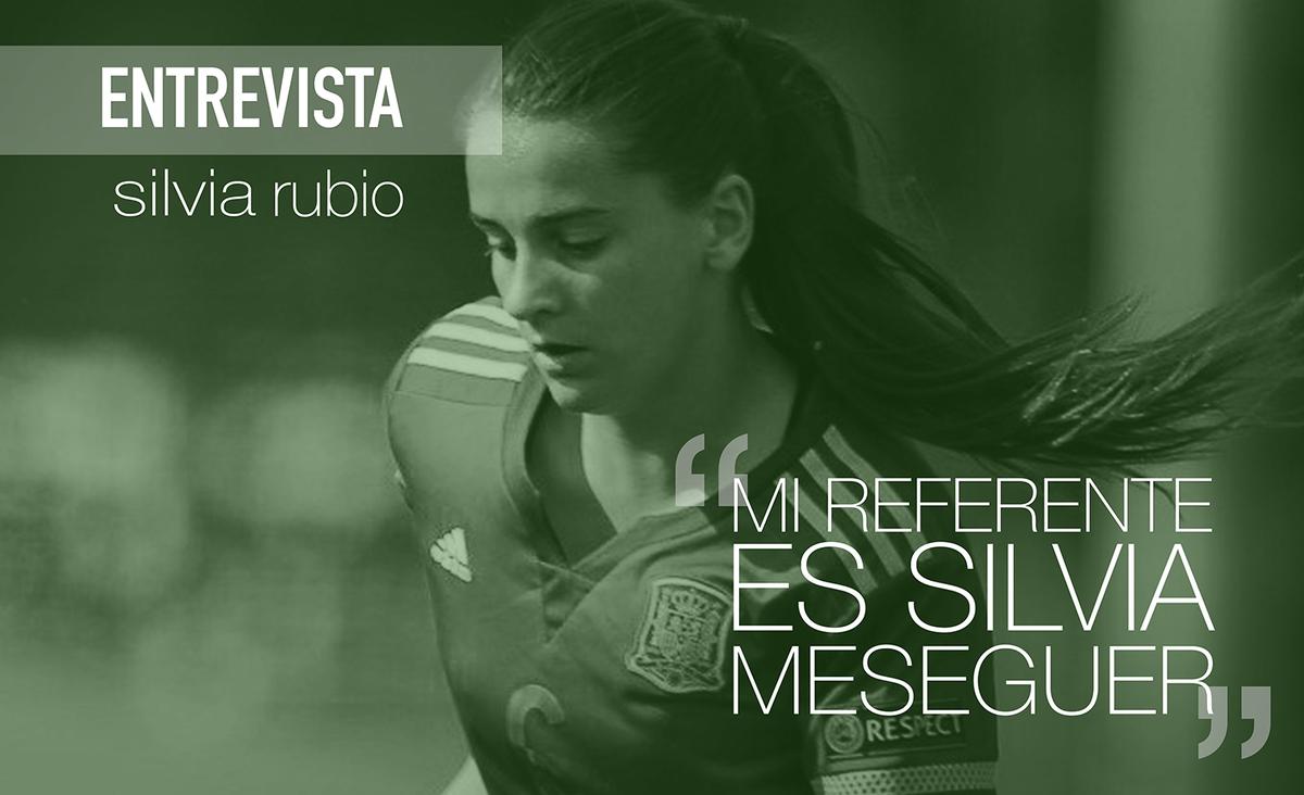 "ENTREVISTA ✍🏼 @silviarubio_14, del @MadridCFF:  🗣 ""Mi referente es @meseguer15, hablé con ella tras lesionarme""  ▶️ https://t.co/xMnT6IWrGh https://t.co/xG3F6t19DJ"