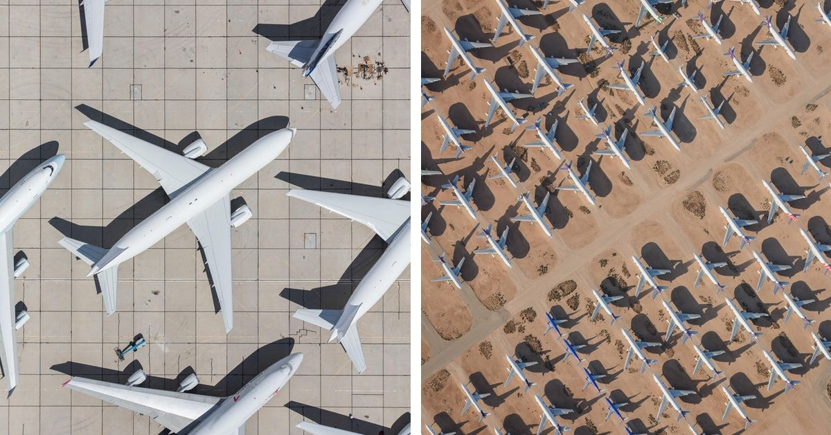 Aerial Photos Taken From Helicopter Reveal the Stunning Symmetry of Airports https://t.co/5HBHA1Jkvn https://t.co/prKDQmGdZd
