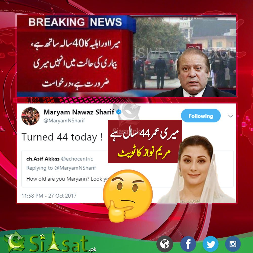 Wait WHAT?   #PMLN #PTI #MaryamNawaz #Age <br>http://pic.twitter.com/TNqP172zdy