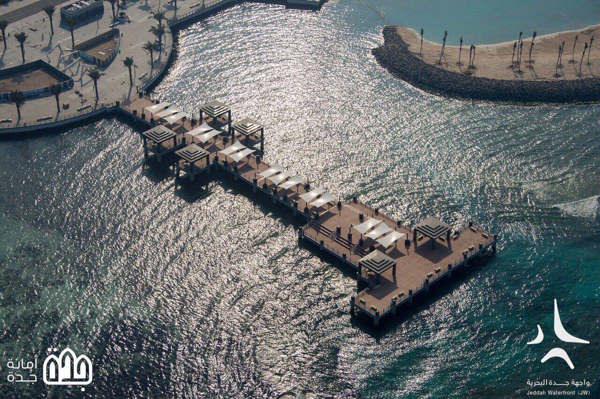 سقالة #واجهة_جدة_البحرية الجديدة بطول 12...