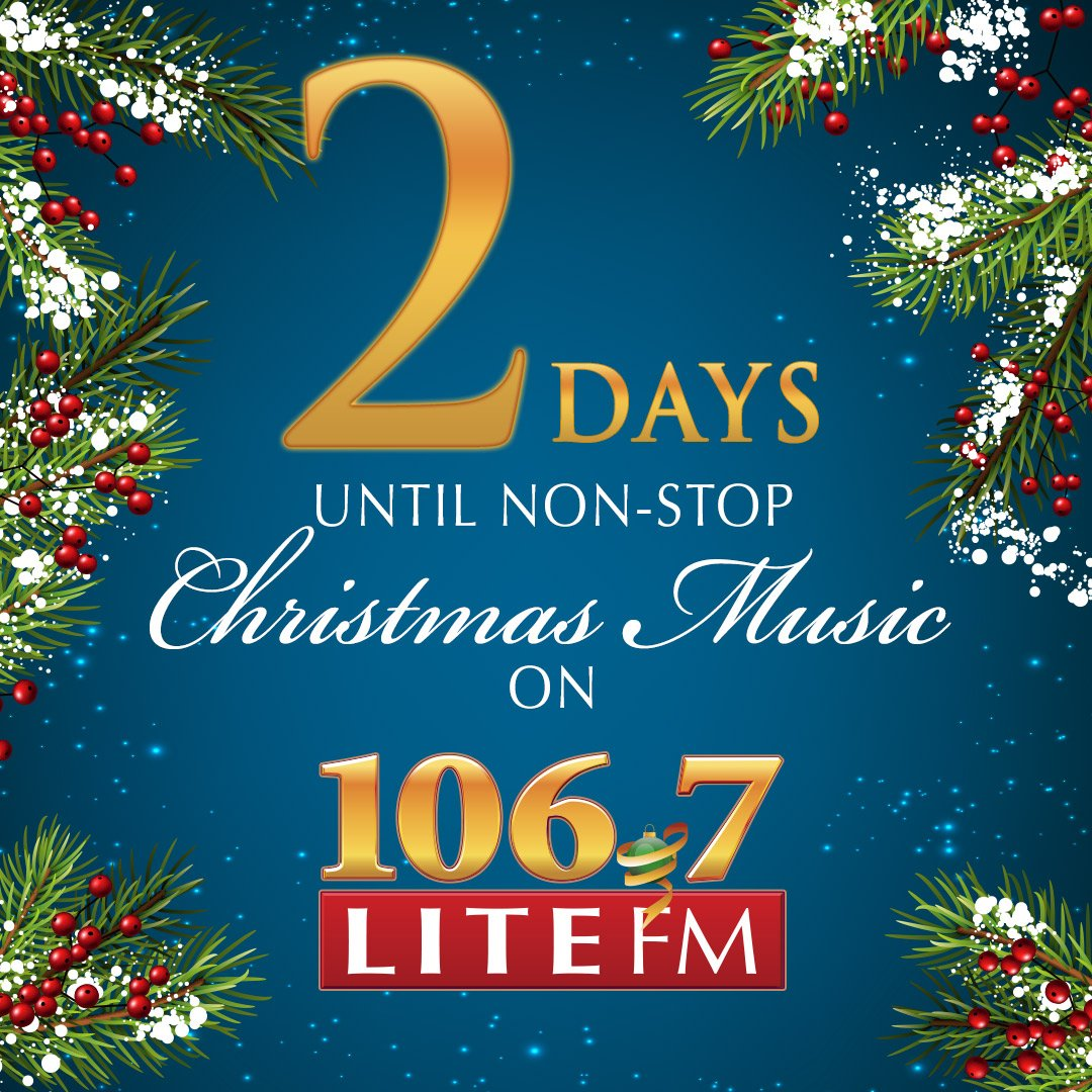 Non Stop Christmas Music.106 7 Lite Fm On Twitter We Are Flipping To Nonstop