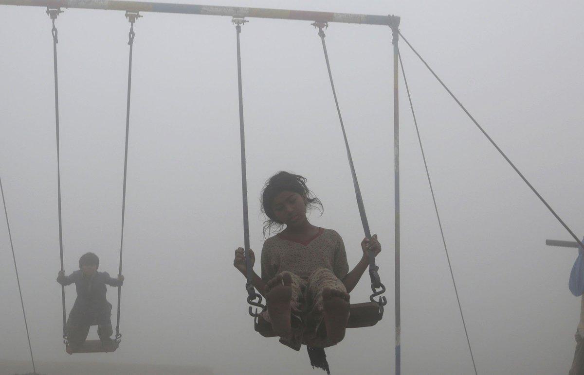 Toxic sky of India