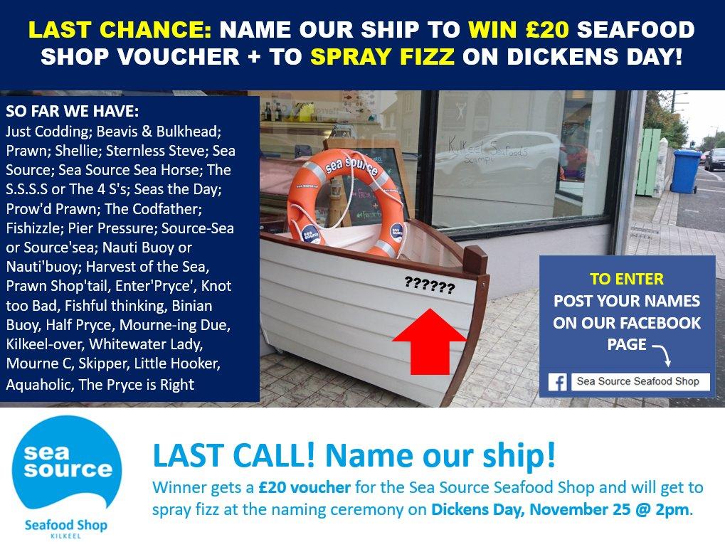 Sea Source NI on Twitter:
