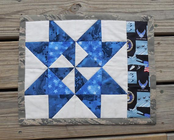 #US #AirForce #MugRug #PlaceMat Mouse Pad Candle Mat by #GabbysQuilts   https:// buff.ly/2zEF0cd  &nbsp;   via @Etsy #etsyhandmade #militarygift #epiconetsy #shopsmall  #americanmade<br>http://pic.twitter.com/0Kd0tAFUvn