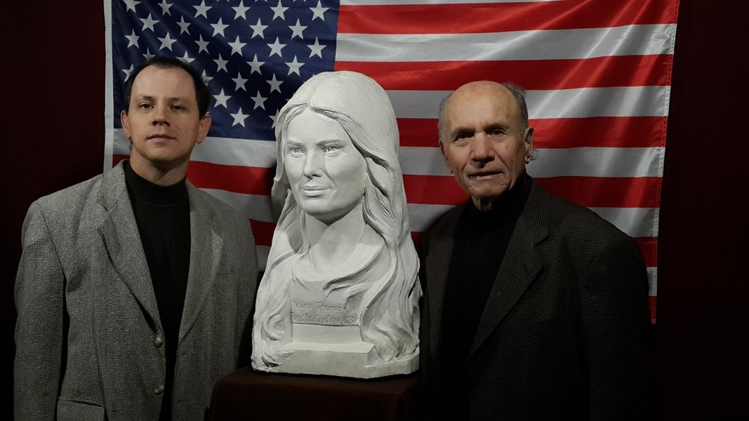 Learn the story...  https://www. indiegogo.com/projects/melan ia-trump-first-lady-of-the-usa-in-marble-art#/ &nbsp; …  It is important to support by retweets to realize #MelaniaTrump in #marble and help us meet our goal. Thank you! #FirstLady #USA<br>http://pic.twitter.com/u3W0FjBvLQ
