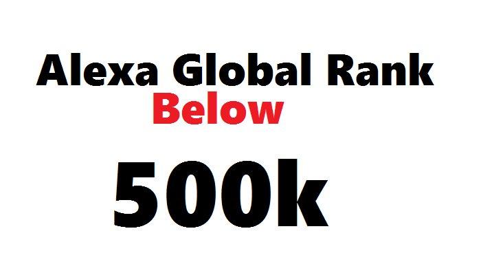 Improve ALEXA GLOBAL Rank Below 500k for $45  #WebTraffic #serp #SEO #Fiverr #Fiverrgig   https:// goo.gl/SNS49A  &nbsp;  <br>http://pic.twitter.com/hW449xQx8r