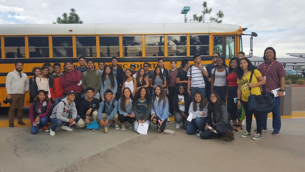 #OlympianEagles off to @PacArtsMovement #YouthDay! #reelvoicespic.twitter.com/Ss8am26ZsT