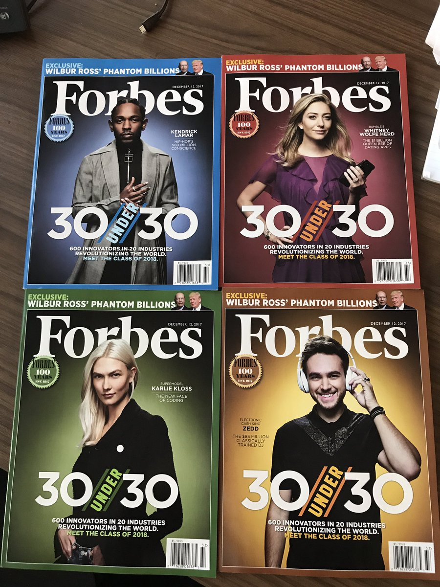 Just hit my desk: Why have one @Forbes #...