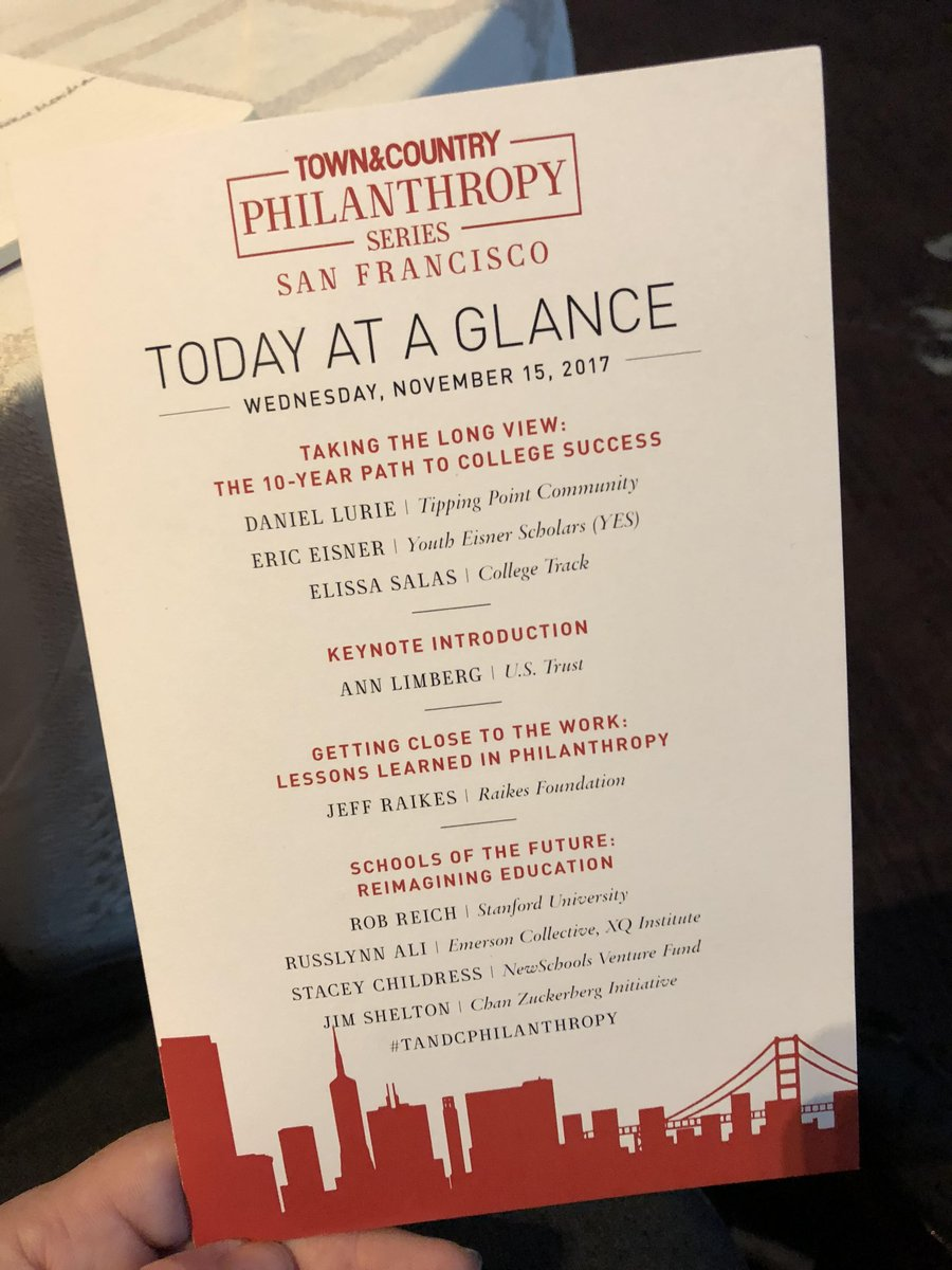 test Twitter Media - .@robreich in conversation on 'Reimagining Education' at the @TandCmag philanthropy event in San Francisco #TandCPhilanthropy https://t.co/muaj2nU2y1