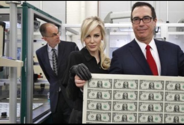 &quot;The Treasurer Who Loved Me&quot; It is starting to be a little difficult to tell the difference between reality and fiction #TrumpAdministration <br>http://pic.twitter.com/JStySOiFv4