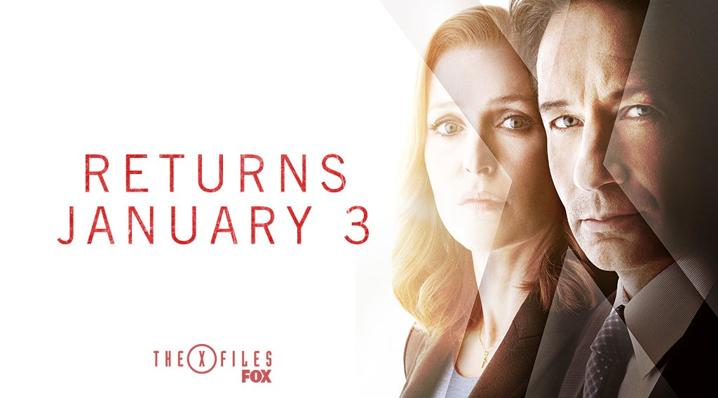 #TheXFiles are re-opening January 3. 👽 Are you ready?
