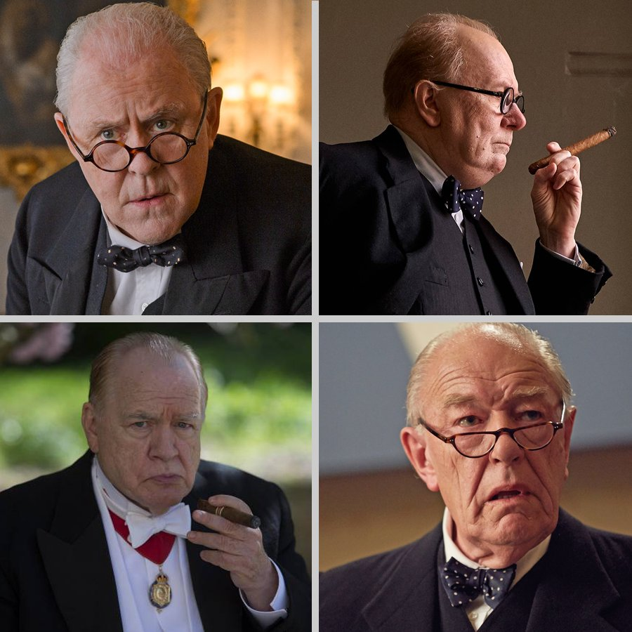 It&#39;s #WinstonCrushWednesday but it&#39;s so hard to choose! With so many solid portrayals on screens big and small, have we finally reached Peak Churchill? #JohnLithgow #BrianCox #GaryOldman #MichaelGambon #WinstonChurchill #Churchill<br>http://pic.twitter.com/BbQs91btwg
