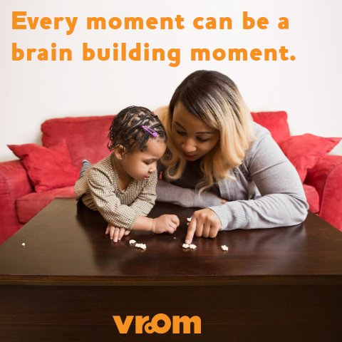 Hide a toy. Give your child clues to find it. As you play they&#39;re learning that objects don't disappear when they can&#39;t see them. #VroomTip <br>http://pic.twitter.com/4BKTmvjMDs