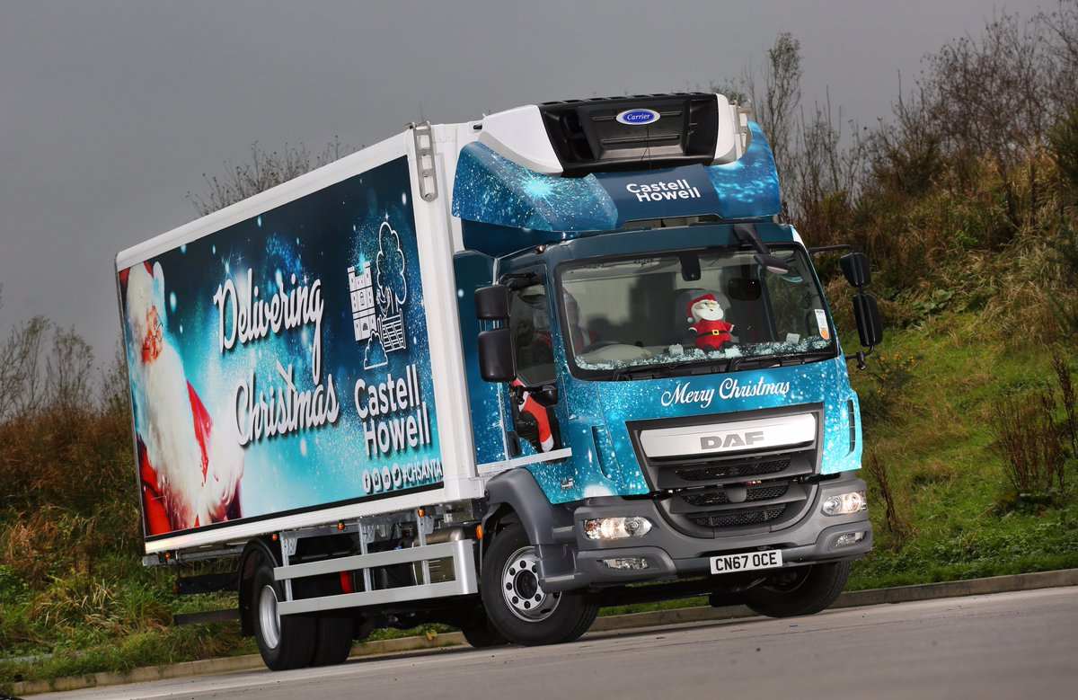 "Castell Howell Foods on Twitter: ""'Howell-days' are coming! #CHSANTA makes it onto Wales Online 😀🎅🚛 https://t.co/R1qqfFRV9W… """