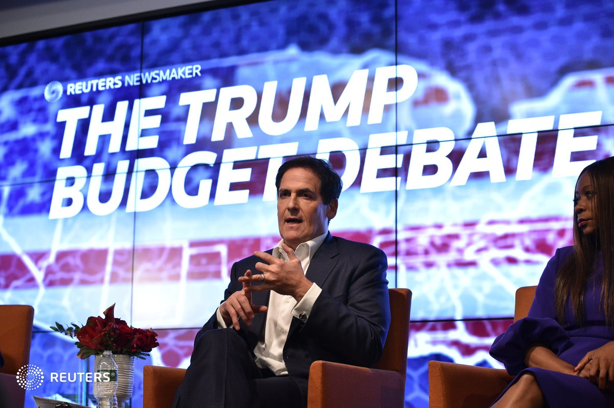 .@mcuban: 20 years from now...the greatest employer will be self-employment because we will arbitrage our time. #ReutersLive <br>http://pic.twitter.com/G7yveWf45W