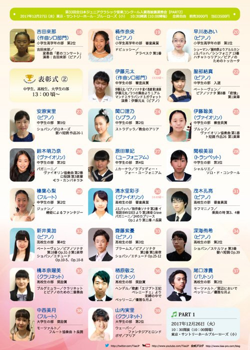 全日本 ジュニア クラシック コンクール