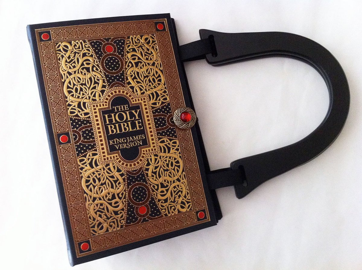 Holy Bible Book Purse - New Testament Book Clutch - Old Testament …  http:// tuppu.net/bd24c451  &nbsp;   #EpiconEtsy #AlteredBook<br>http://pic.twitter.com/jWk9xuiKz4