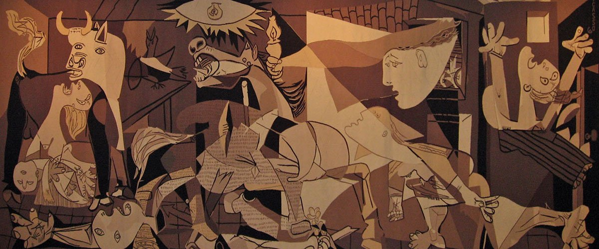 critical review of pablo picasso s guernica critical review of pablo picasso's guernica pablo picasso was one of the most influential artists of the twentieth century constantly updating and mastering his style, he was known as the pioneer of cubism (pablo picasso biography.
