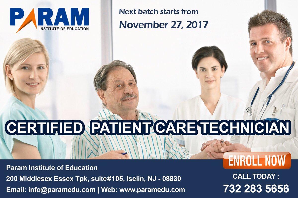 Pie On Twitter Certified Patient Care Technician Program Begin In