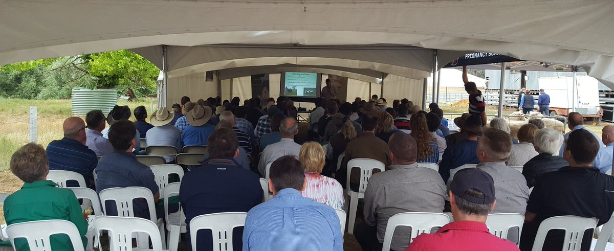 Using #eID to increase productivity sparks interest with Jason Trompf talking lamb survival + #measuretomanage  http://www. makingmorefromsheep.com.au  &nbsp;   #turningpotentialintoprofit<br>http://pic.twitter.com/2IqSHifOtx