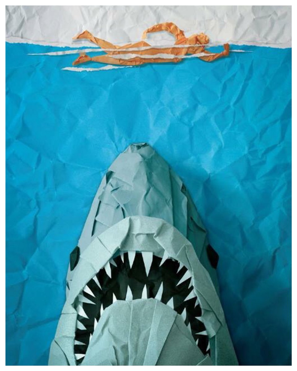 We've recently discovered the ancient art of Orijawmi  #jaws #art #origami #paperart #shark<br>http://pic.twitter.com/7P8Q5v807p