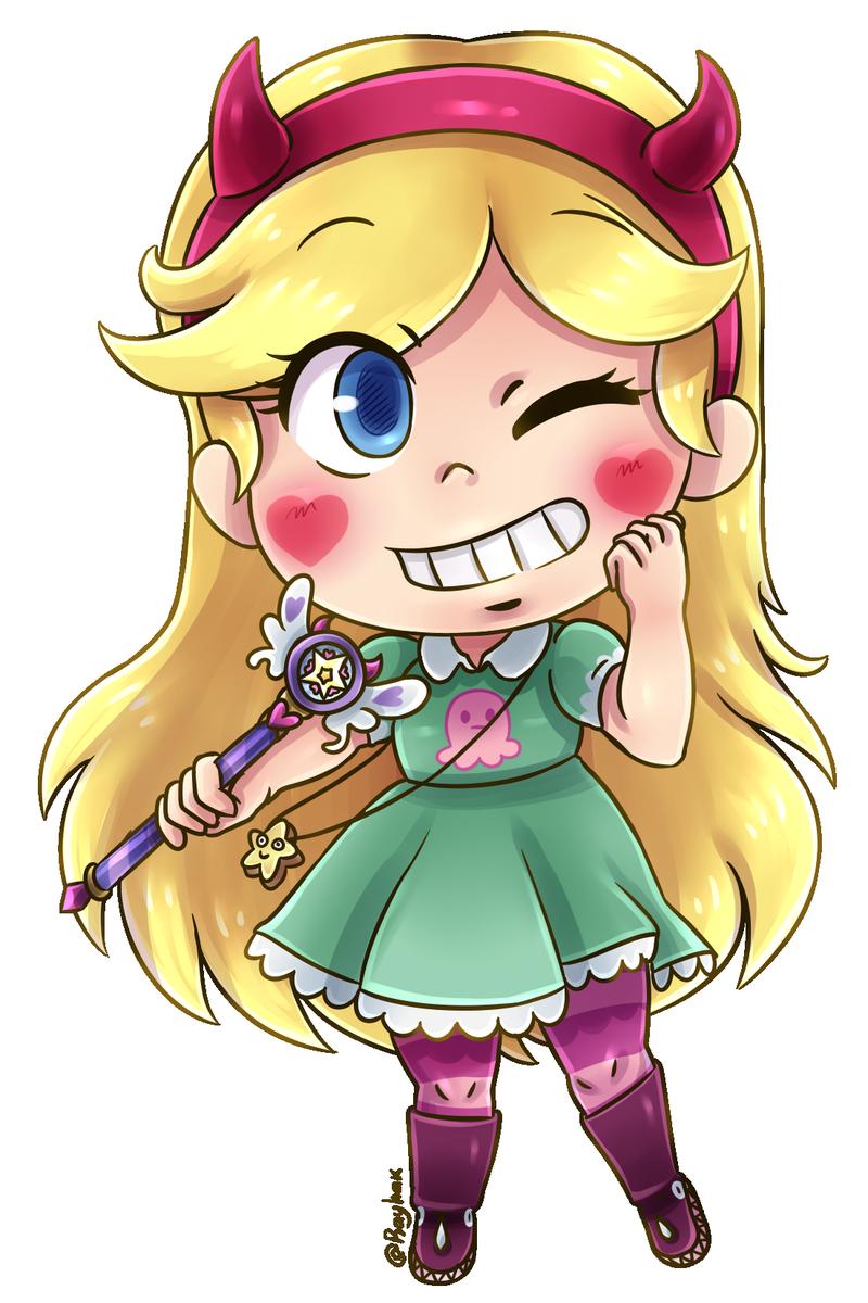 Just A Single Chibi Today Star From Vs The Forces Of Evil Starbutterfly Starvstheforcesofevil Starvslasfuerzasdelmal Anime