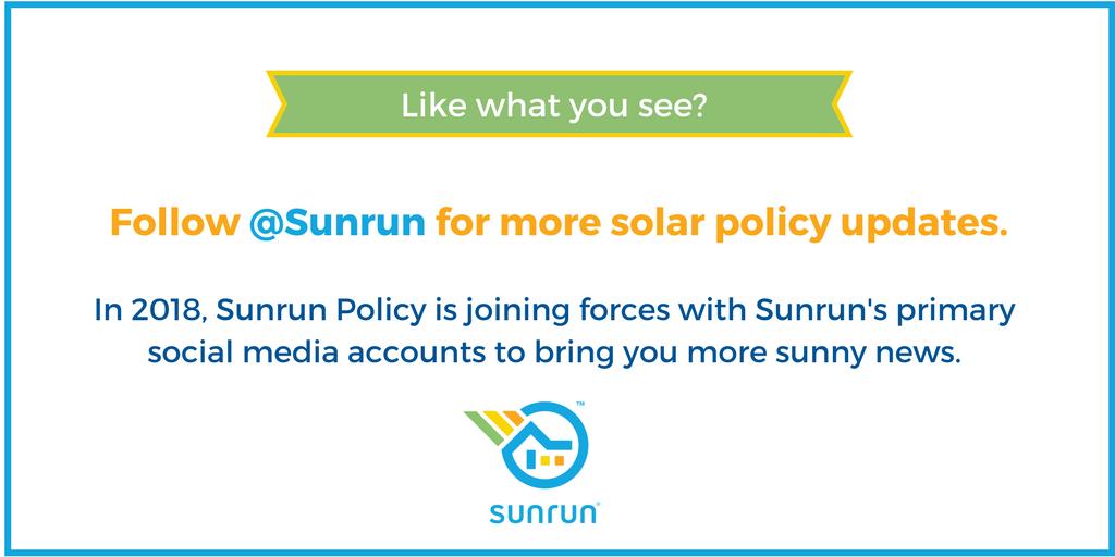 Sunrun Policy (@sunrunpolicy) | Twitter