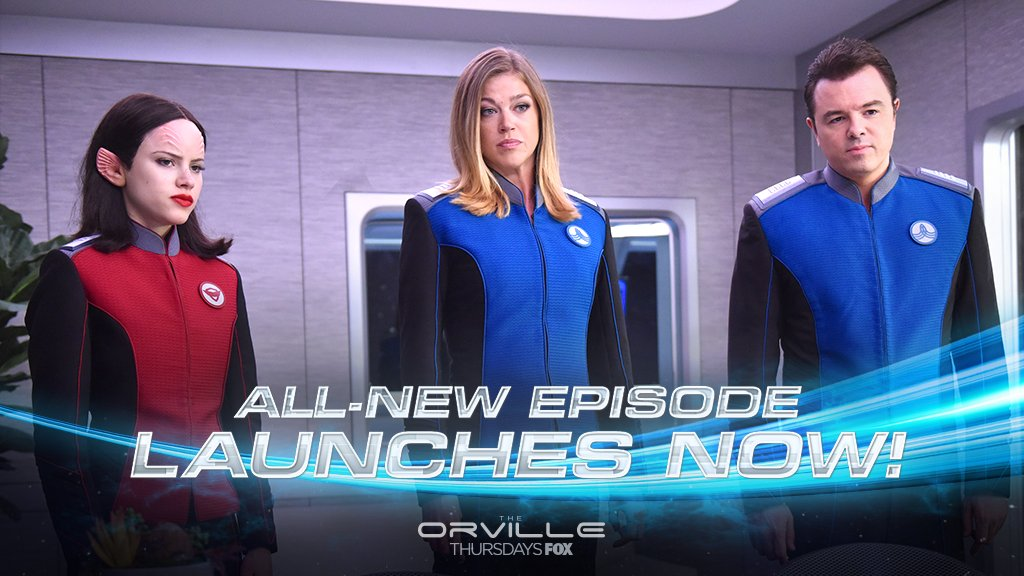 #TheOrville has officially launched on a...